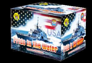 Pride in the Water 500 gram cake
