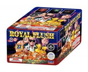 royal Flush 500 gram cake