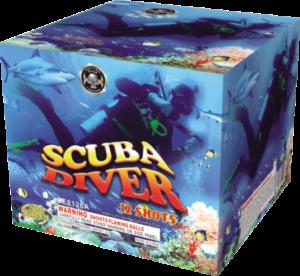 Scuba diver 500 gram cake