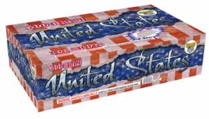 United States 500 gram cake