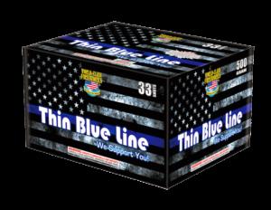 Thin Blue Line 500 Gram Cake